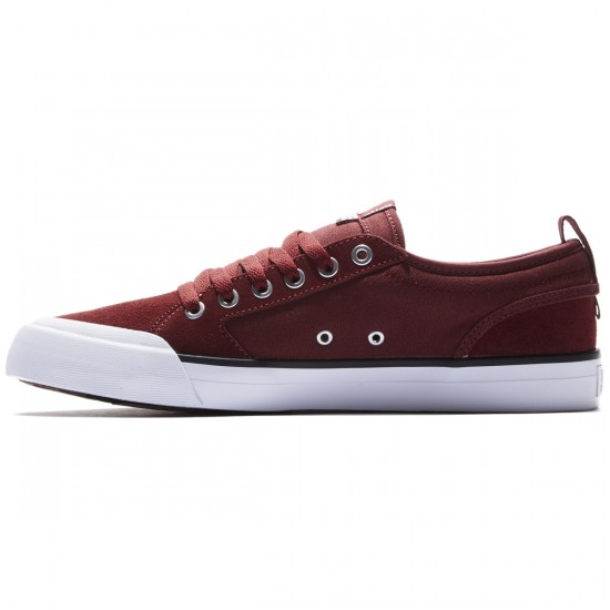DC Evan Smith Shoes - Burgundy - 8.0