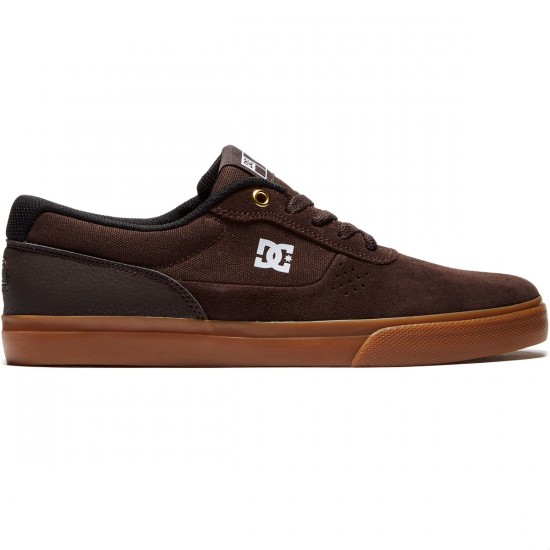 DC Switch Shoes - Brown/Gum - 8.0