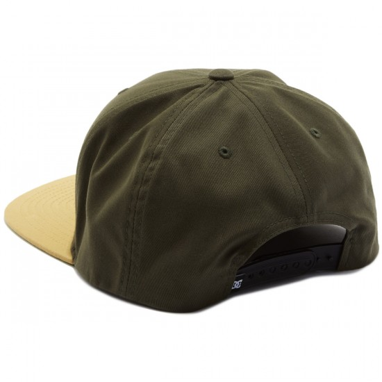 DC Snappy Hat - Dark Olive