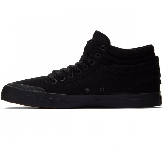 DC Evan Smith Hi Shoes - Black/Black/Gum - 8.0
