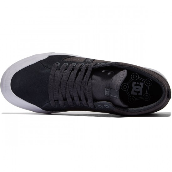 DC Evan Smith Hi Shoes - Gark Grey/White - 8.0