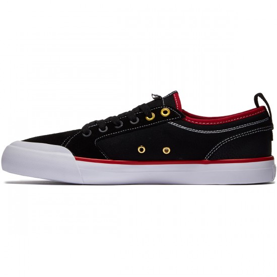 DC Evan Smith Shoes - Black/Red/White - 8.0