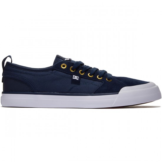 DC Evan Smith S Shoes - Navy/Dark Chocolate - 8.0