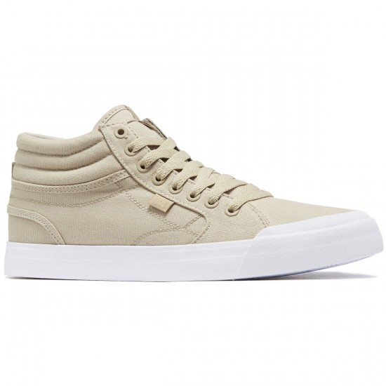 DC Evan Smith Hi Shoes - Tan - 8.0