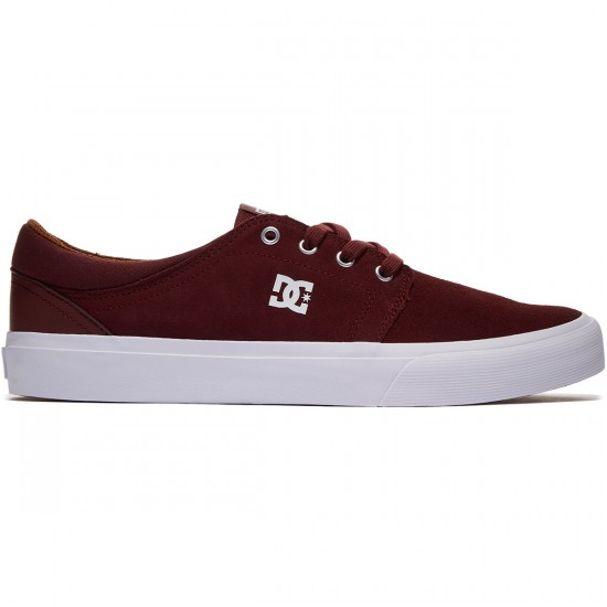 DC Trase S Shoes - Ox Blood - 8.0