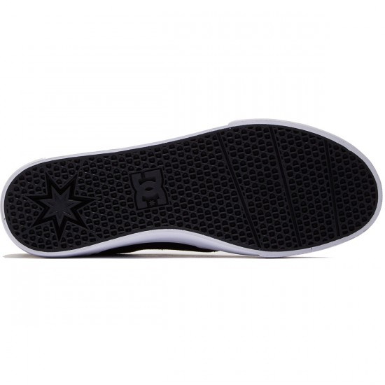 DC Trase Slip-On Shoes - Black/White - 8.0