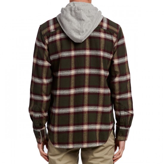 DC Runnels Long Sleeve Shirt - Dark Olive
