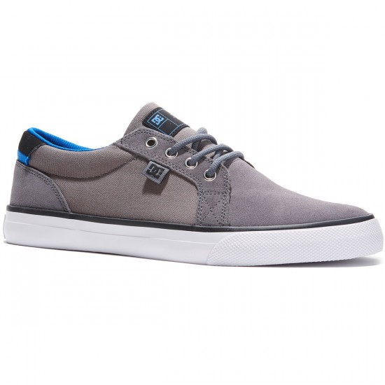DC Council S Shoes - Grey/Grey/White - 8.0