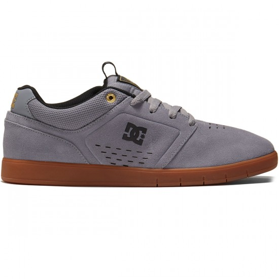 DC Cole Signature Shoes - Grey/Gum - 8.0