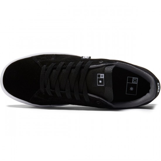 DC Astor S Shoes - Black/White - 8.0