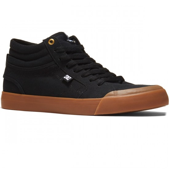 DC Evan Smith Hi Shoes - Black - 8.0