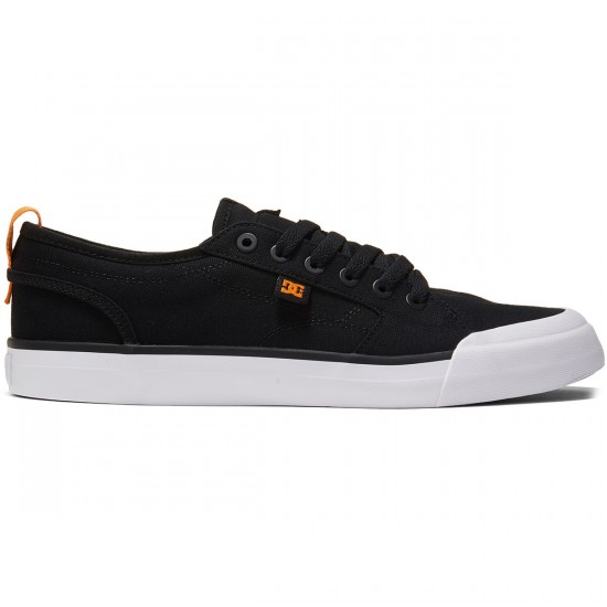 DC Evan Smith TX Shoes - Black/Orange - 8.0