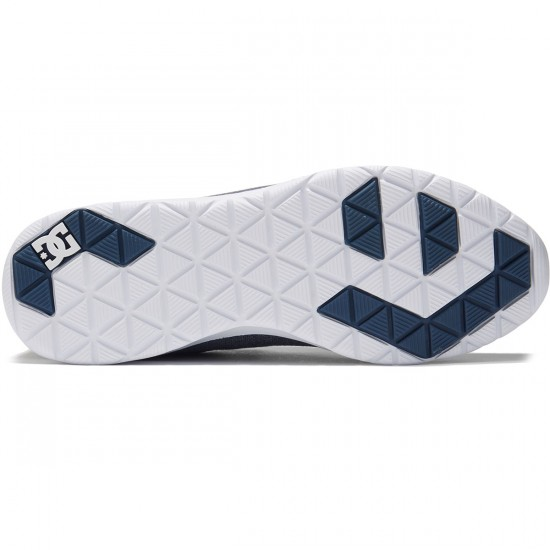 DC Heathrow SE Shoes - Navy/Blue/White - 8.0