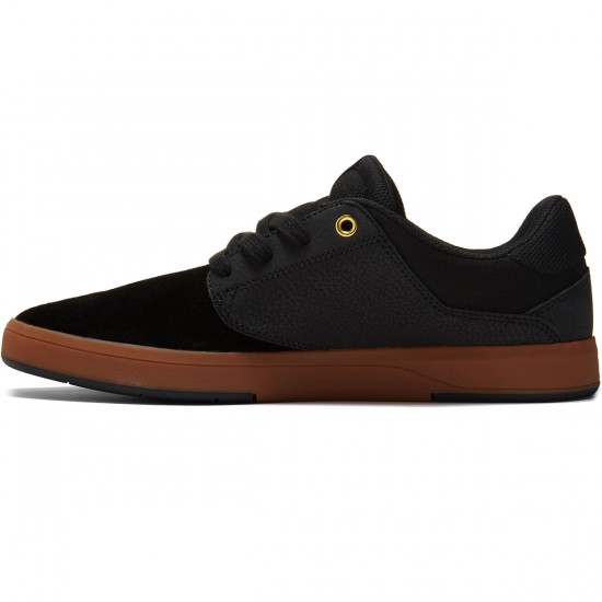 DC Plaza TC S Shoes - Black/Gum - 8.0
