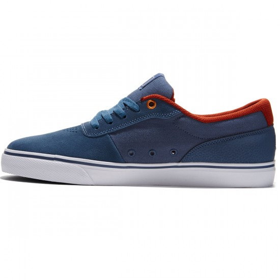 DC Switch S Shoes - Vintage Indigo - 8.0