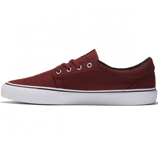 DC Trase TX Shoes - Ox Blood - 8.0