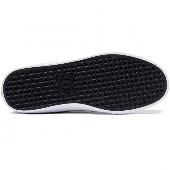 DC Wes Kremer Shoes - Black/Grey/White - 8.0