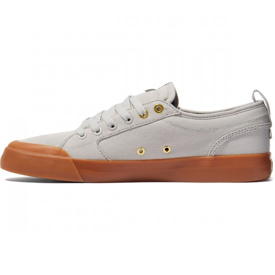 DC Evan Smith TX Shoes - Grey/Gum - 8.0