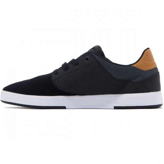 DC Plaza TC S Shoes - Black/Tan - 8.0