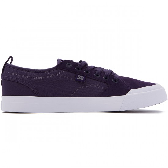 DC Evan Smith Shoes - Purple/White - 8.0