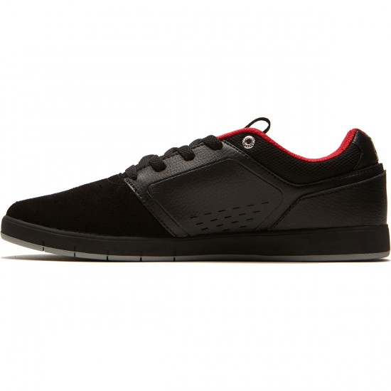 DC Cole Signature Shoes - Black/Black/Red