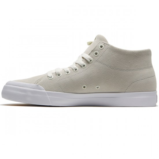 DC Evan Smith Hi Zero Shoes - White - 8.0