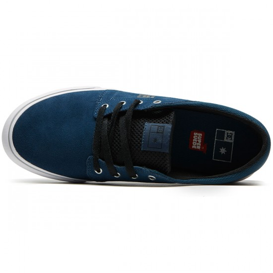 DC Trase S Shoes - Deep Water - 8.0