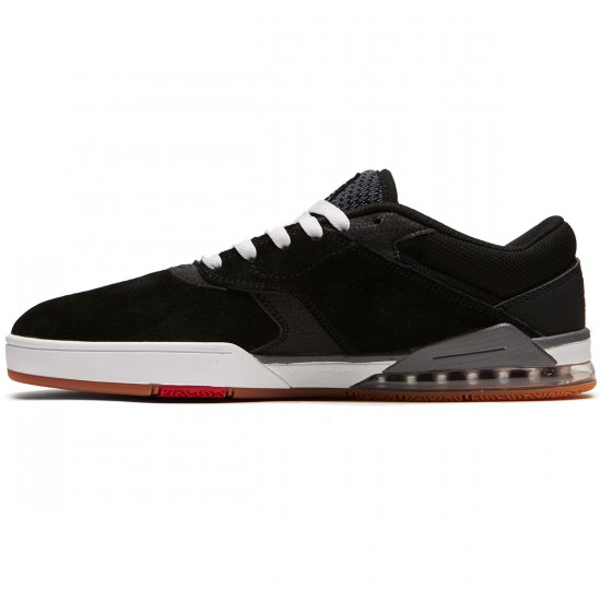 DC Tiago S Shoes - Black/White/Red - 8.0