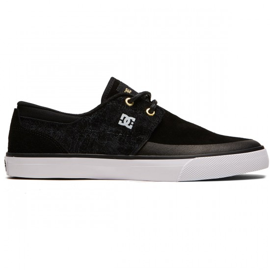 DC Wes Kremer 2 X Sk8Mafia Shoes - Black/White/Black - 8.0