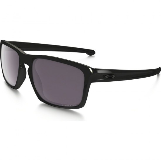 Oakley Sliver Polarized Sunglasses - Steel/Prizm Daily