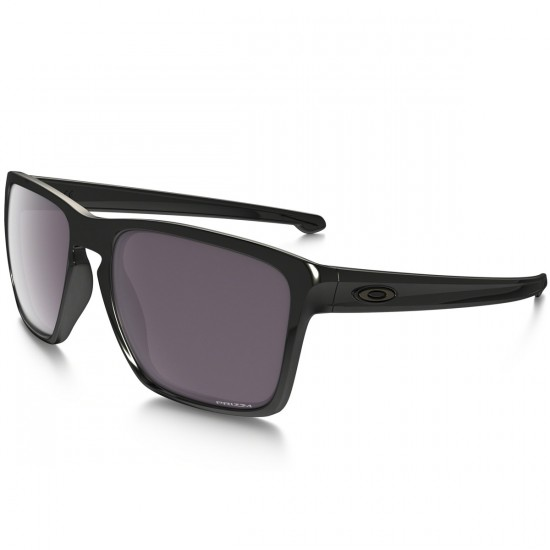 Oakley Sliver XL Polarized Sunglasses - Polished Black/Prizm Daily