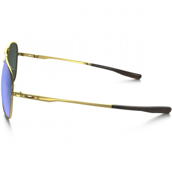 Oakley Elmont L Sunglasses - Satin Gold/Jade Iridium