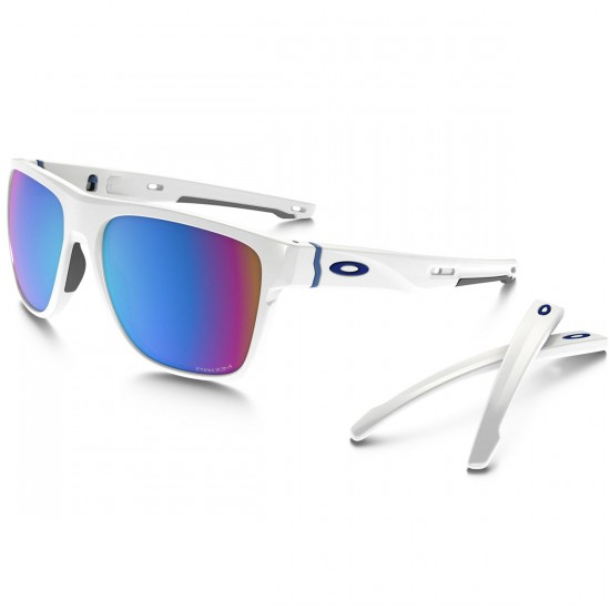 Oakley Crossrange XL Sunglasses - Polished White/Prizm Snow