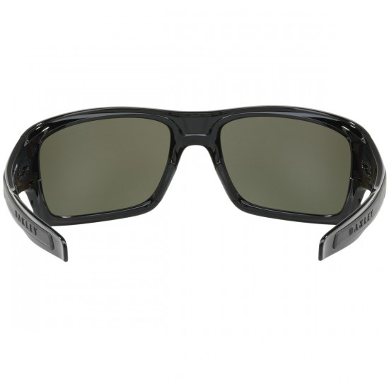 Oakley Turbine Sunglasses - Polished Black/Prizm Black