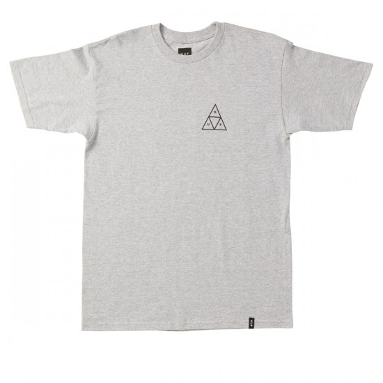 HUF Triple Triangle Summer 16 T-Shirt - Grey Heather