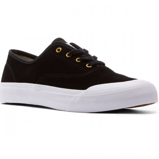 HUF Cromer Shoes - Black Suede - 8.0