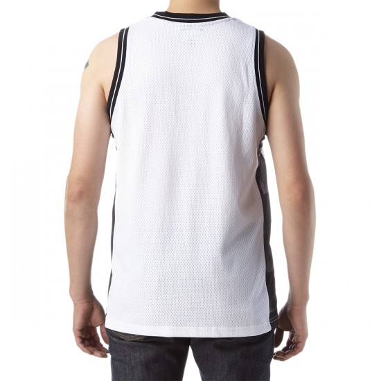 HUF Division Basketball Jersey - White