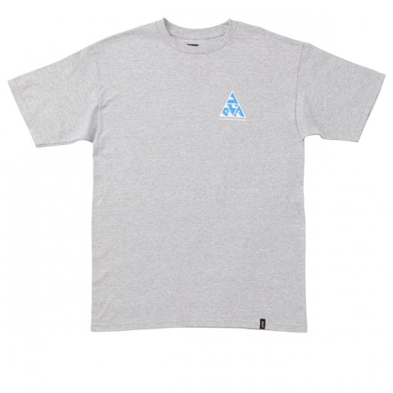 HUF Premiere Triple Triangle T-Shirt - Grey Heather