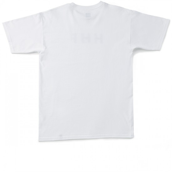 HUF Original Logo T-Shirt - White/Black