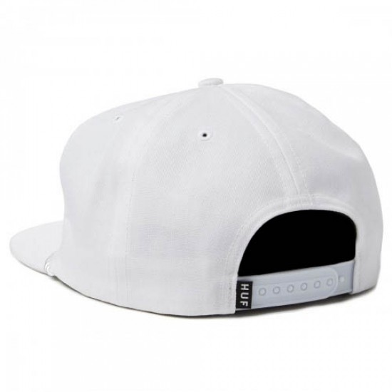 HUF Drink Up Snapback Hat - White