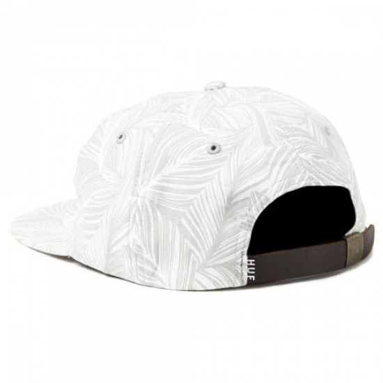 HUF Tropics 6 Panel Hat - Grey