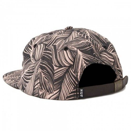 HUF Tropics 6 Panel Hat - Smoke Pink