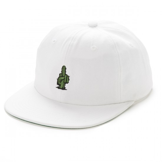 HUF Prick 6 Panel Hat - White