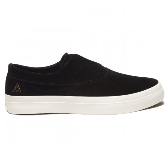 HUF Dylan Slip On Shoes - Black/White - 8.0