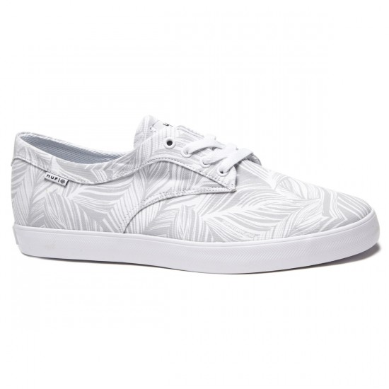 HUF Sutter Shoes - White/Palm - 8.0