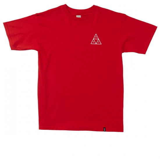 HUF Triple Triangle T-Shirt - Red/White
