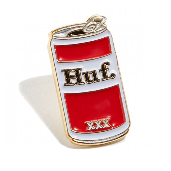 HUF Can Pin - Red