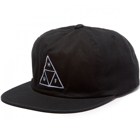 HUF Triple Triangle Snapback Fall 2016 Hat - Black