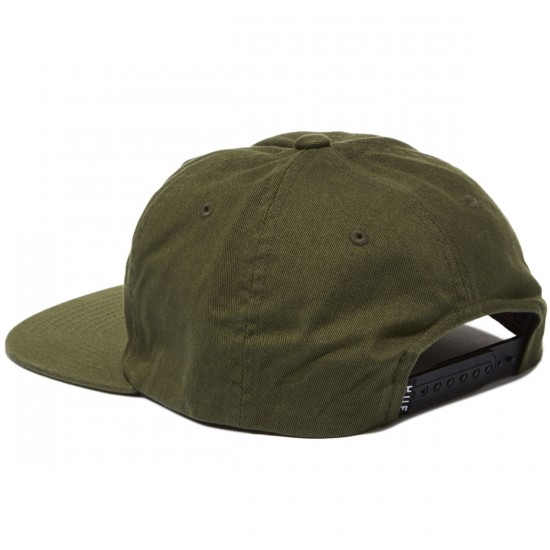 HUF Triple Triangle Snapback Hat - Olive