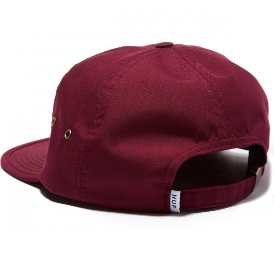 HUF Formless Classic H 6 Panel Hat - Maroon